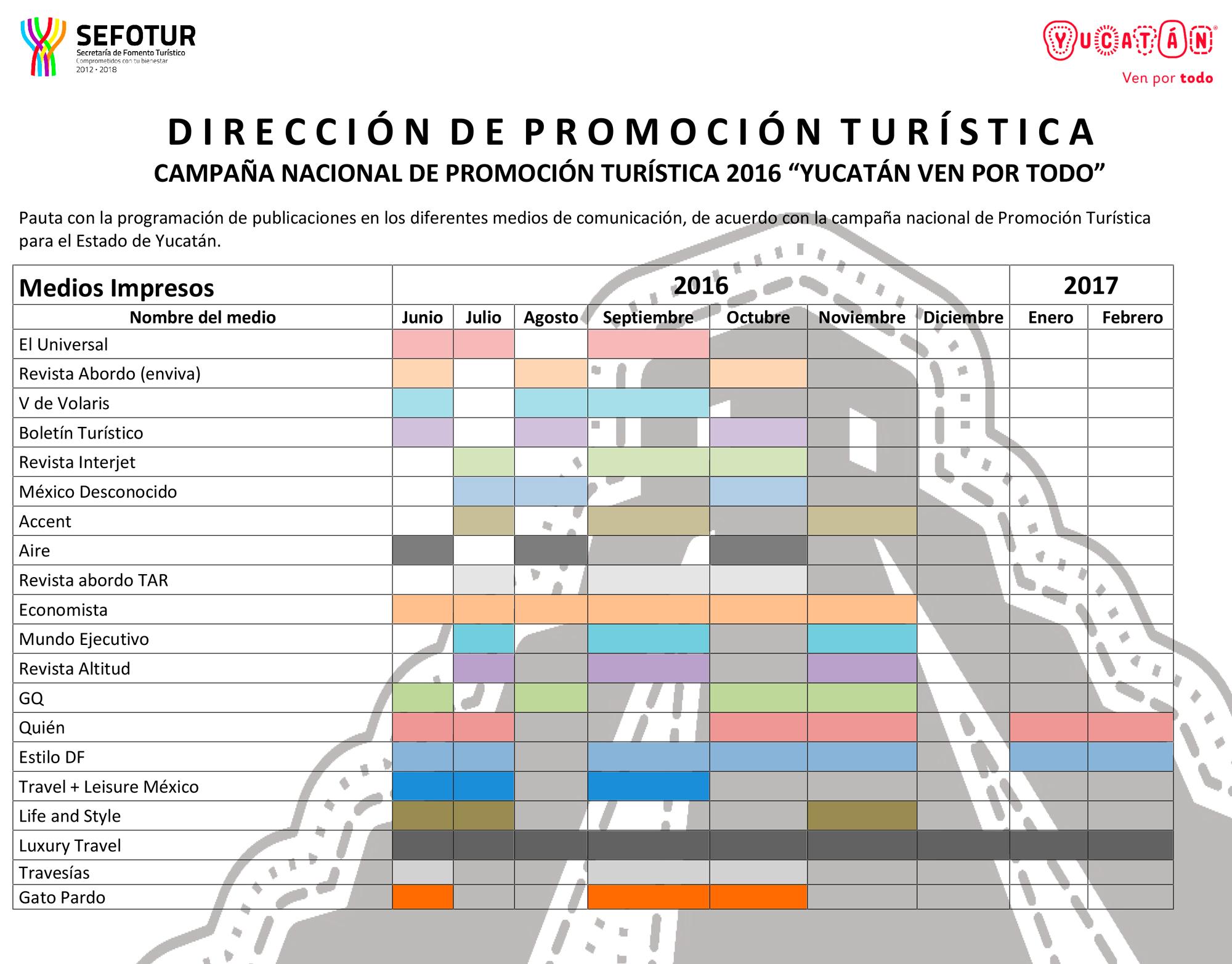 Calendario De Actividades Eventos: Secretaría De Fomento Turístico :: Gobierno Del Estado
